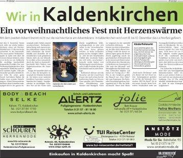 Wir in Kaldenkirchen  -06.12.2017-