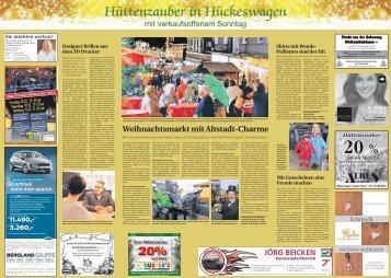 Hüttenzauber in Hückeswagen  -07.12.2017-