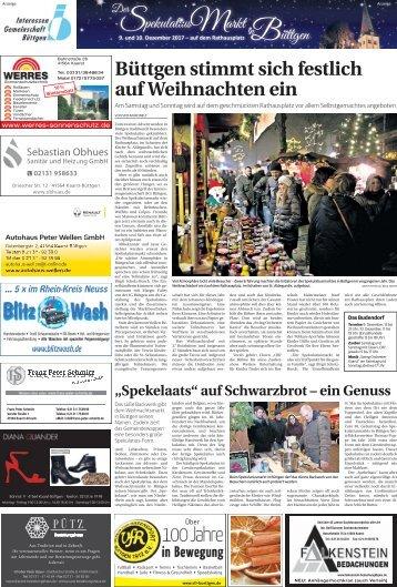 Der Spekulatiusmarkt in Büttgen  -08.12.2017-