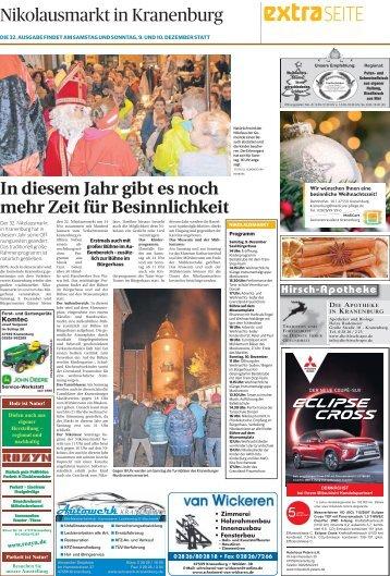 Nikolausmarkt in Kranenburg  -08.12.2017-