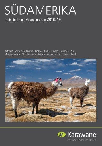 2018-Südamerika-Katalog
