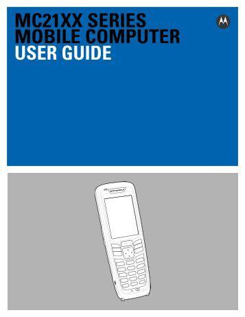 MC21XX Series Mobile Computer User Guide - Portable ...