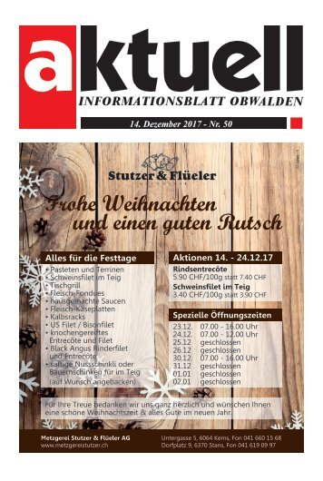 Aktuell Obwalden 50-2017