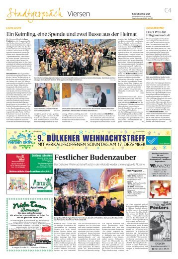 9. Dülkener Weihnachtstreff  -15.12.2017-