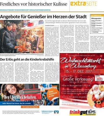 Weihnachtsmarkt in Wassenberg  -15.12.2017-