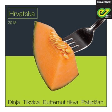 Brochure melon Croatia | 2018