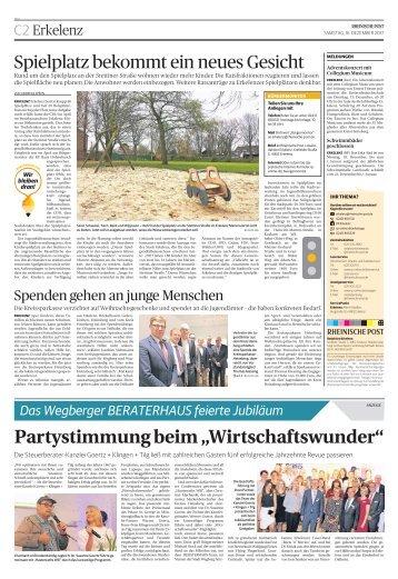 50 Jahre Görtz + Klingen + Tilg  -16.12.2017-