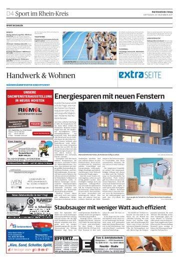 Handwerk & Wohnen  -20.12.2017-