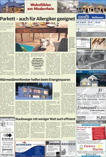 Wohnfühlen am Niederrhein  -20.12.2017-