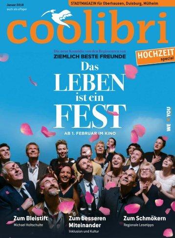 Januar 2018 - coolibri Oberhausen, Duisburg, Mülheim