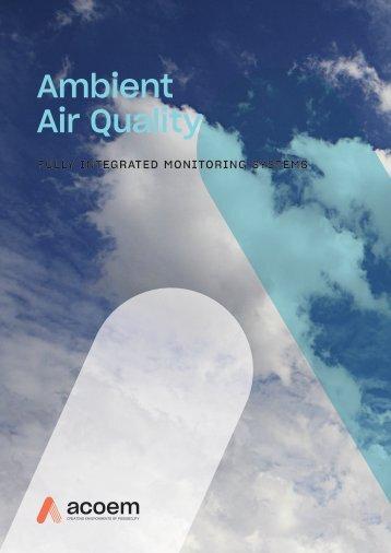ECOTECH Ambient Air Brochure