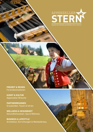 Appenzeller Stern Ausgabe 1 online - Hochglanzmagazin