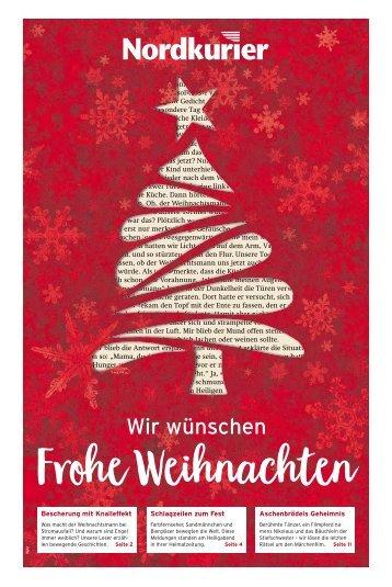 Weihnachtsbeilage Vorpommern Kurier