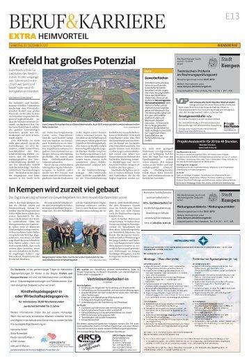 Heimvorteil - Arbeiten in der Region  -23.12.2017-