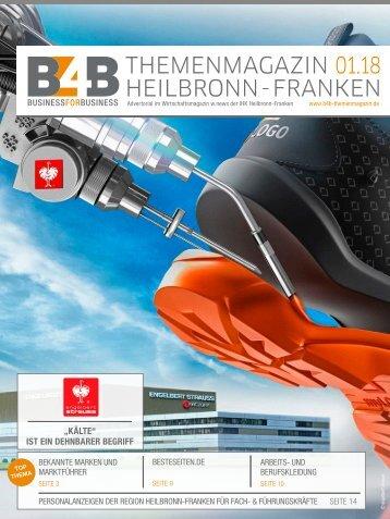 BEKANNTE MARKEN UND MARKTFÜHRER | B4B Themenmagazin 01.2018