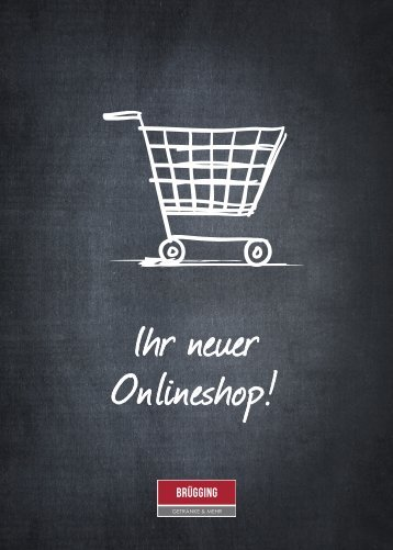 Brügging Onlineshop Flyer