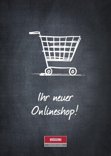 Brügging Onlineshop Flyer