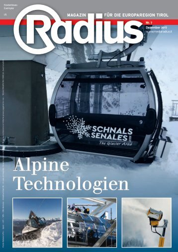 Radius Alpine Technologien 2017
