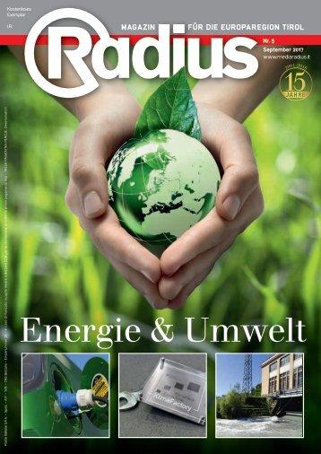 Radius Energie und Umwelt 2017