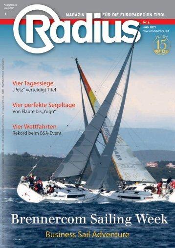 Radius Segeln 2017