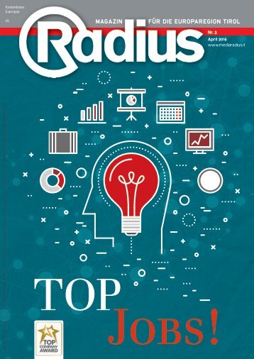 Radius Top Jobs 2016