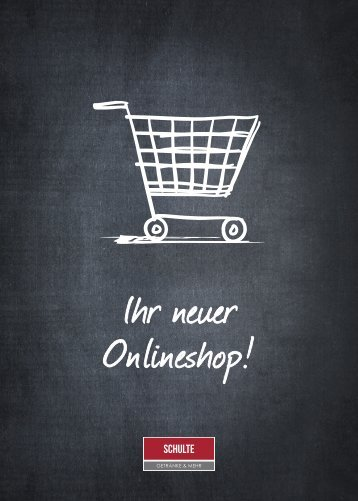 Schulte Onlineshop Flyer