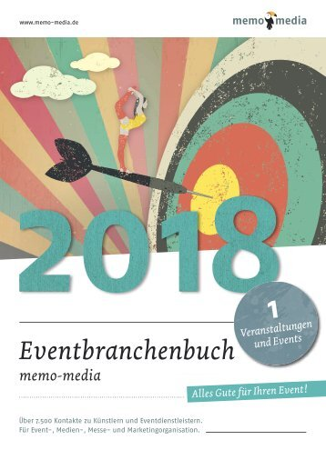 Eventbranchenbuch 2018 Veranstaltungen & Events