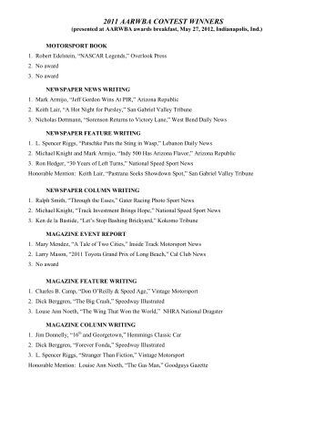 national essay contests 2011