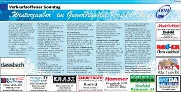 """""""Winterzauber"""" im Gewerbegebiet Krefeld-West  -05.01.2018-"""