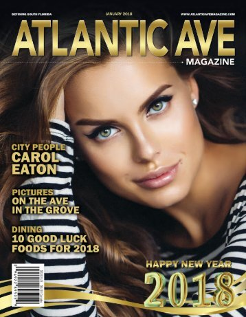 Atlantic Ave Magazine January 2018 Issue