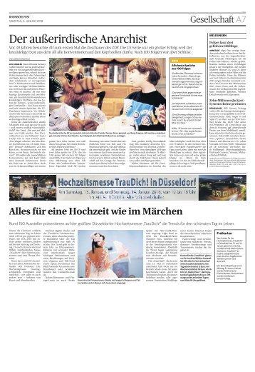 Hochzeitsmesse Trau Dich! in Düsseldorf  -06.01.2018-