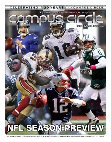 Wednesday, September 15 7:30 pm - Campus Circle