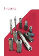 Noris Medical Dental Implants Product Catalog 2018 - Page 7