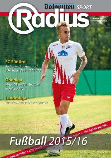 Radius Fussball 2015
