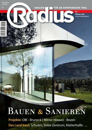 Radius Bauen und Sanieren 2015