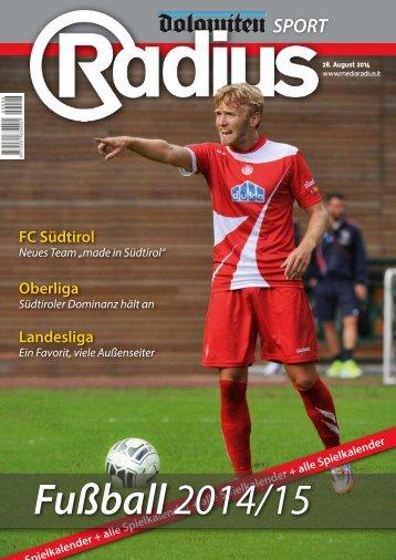 Radius Fussball 2014