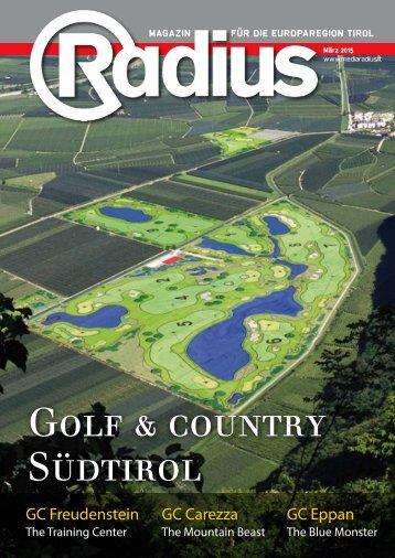 Radius Golf Insert 2015