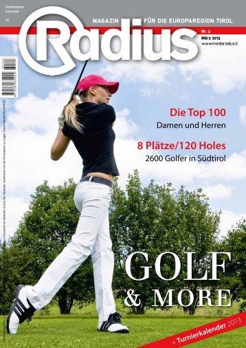 Radius Golf 2013
