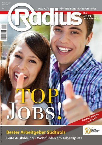 Radius Top Jobs 2013