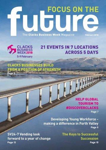 Clacks Business Week 2018 Magazine