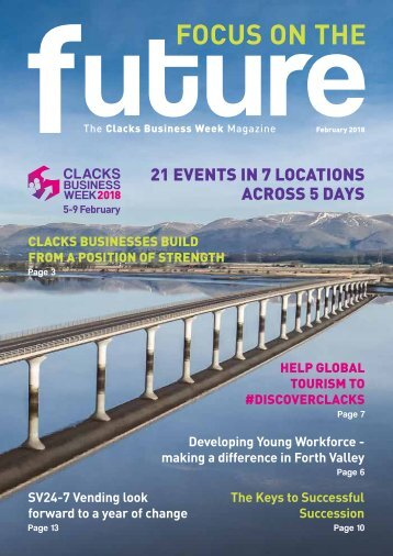 Clacks Business Week 2018 Magazine