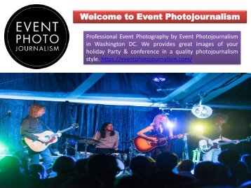 Event Photographers in Washington DC