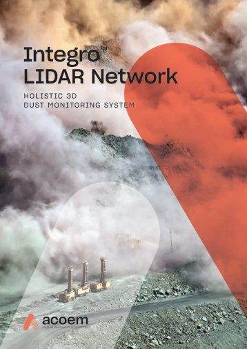 ECOTECH Integro LIDAR Network brochure