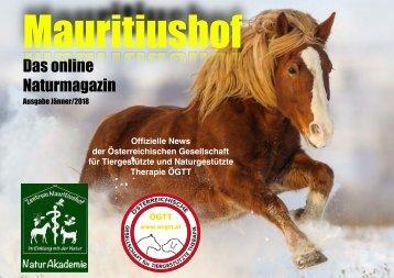 Mauritiushof Naturmagazin Jänner 2018