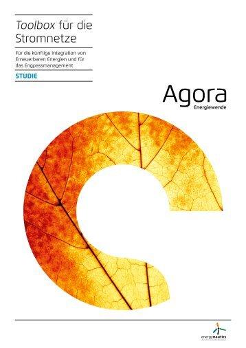 Agora Toolbox für die Stromnetze