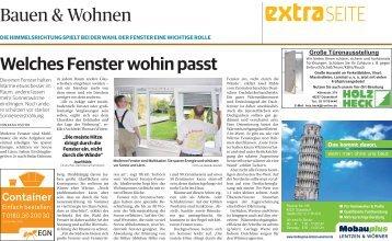 Bauen & Wohnen  -17.01.2018-