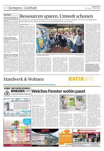 Handwerk & Wohnen  -17.01.2018-
