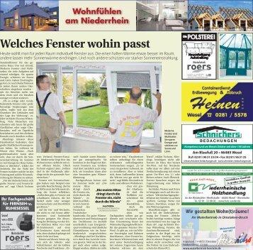 Wohnfühlen am Niederrhein  -17.01.2018-