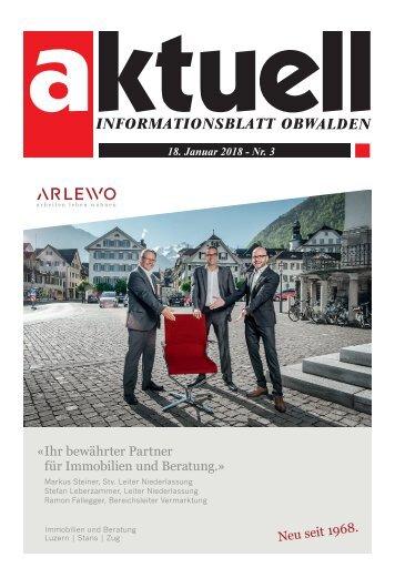 Aktuell Obwalden 03-2018