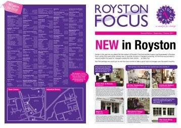 Where to buy - Royston First